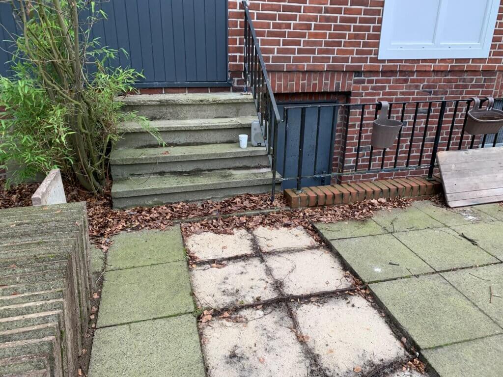 Terrassen Treppe