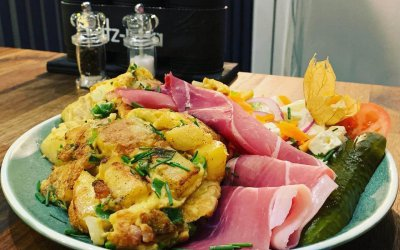 Bauernfrühstück mit Katenschinken
