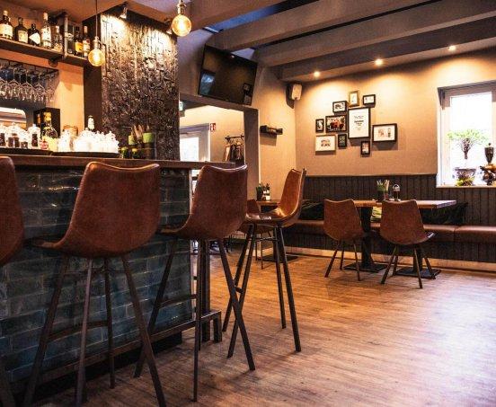 Location Barbereich Restaurant Frau Miller
